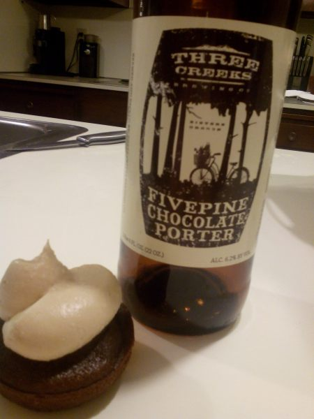 five pine chocolate porter cupcakes