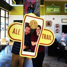 Our trek on the Bend Ale Trail is complete!