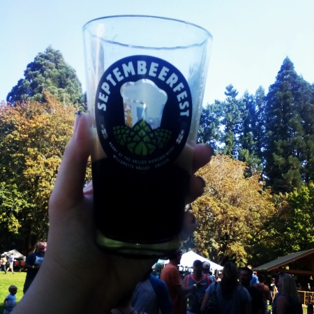2015 Corvallis 8th annual Septembeerfest in Avery Park