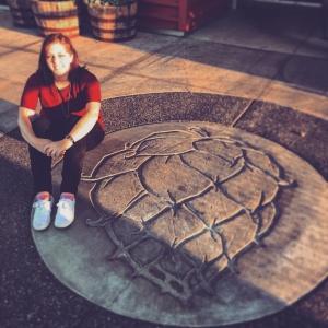 Brooklyn Di Raffaele at Worthy Brewing in Bend, Oregon on the Bend Ale Trail
