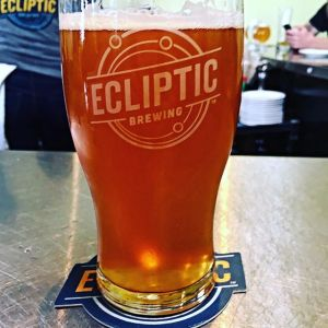 Ecliptic Brewing Hopservatory IIPA with Worthy Brewing
